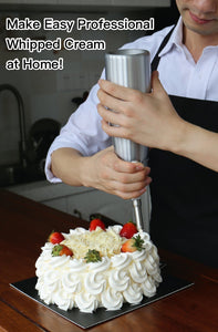 Whipping Siphon Professional Whip Cream Maker