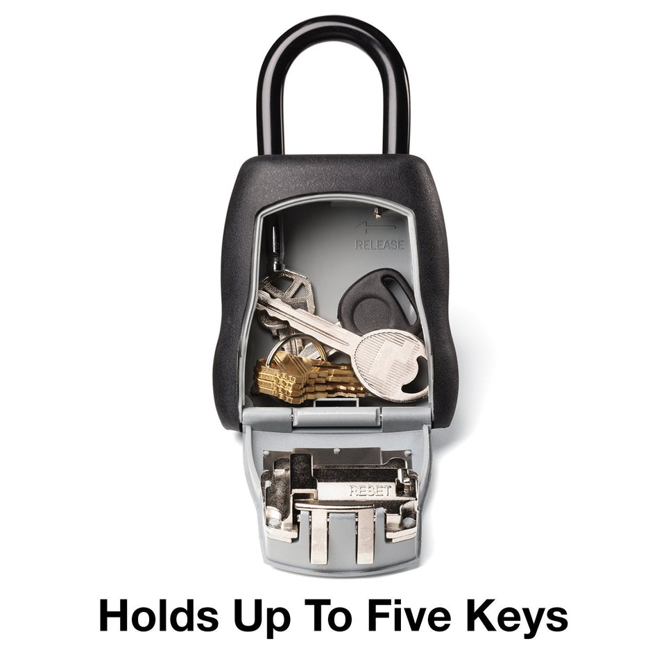 Master Lock Lock Box, Set Your Own Combination Portable Key Safe