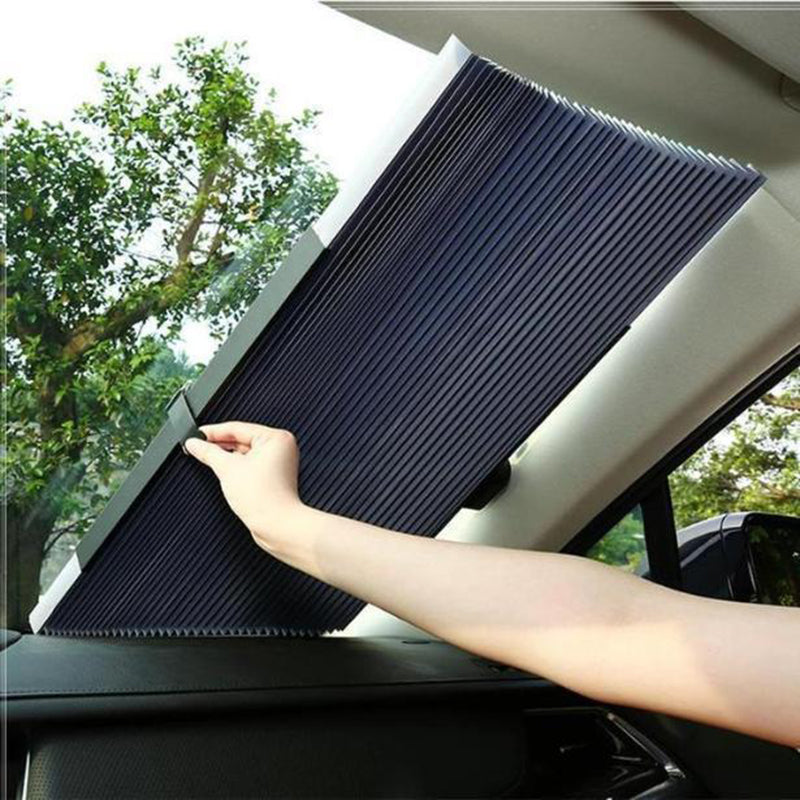 Automatic Telescopic Adjustable Sun Shade Windshield For Car