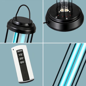Germicidal UV Light Lamp for Disinfect Bacterial Kill Mites Deodorizer