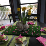 Grass flower Table/Easter centerpieces tabletop Decoration