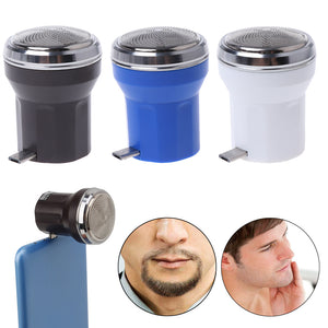 Portable Mini USB Smartphone Travel Razor Shaving