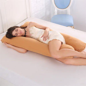 100% Cotton Maternity U Shaped Removable Pillow Cover