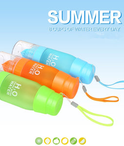 Drink Outdoor Sports Juice Portable Fruit Infusion Water Bottle