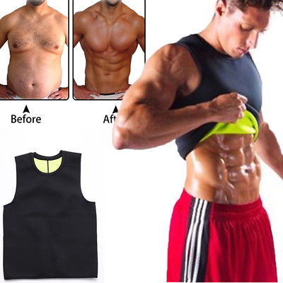 Men's Body Shaping Neoprene Sauna Vest (Free Shipping Worldwide) - Most Buy Pack Of 3 & Save 75%
