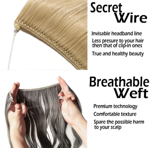 Natural Synthetic Hair Extensions