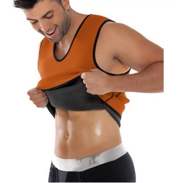 MEN'S BODY SHAPING NEOPRENE SAUNA VEST