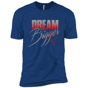 """Dream Bigger"" (Red) Next Level Short Sleeve T-Shirt"