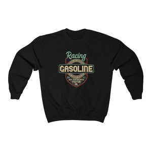 Men's Heavy Blend™ Crewneck Sweatshirt - Racing Gasoline Sweatshirt Printify Black S
