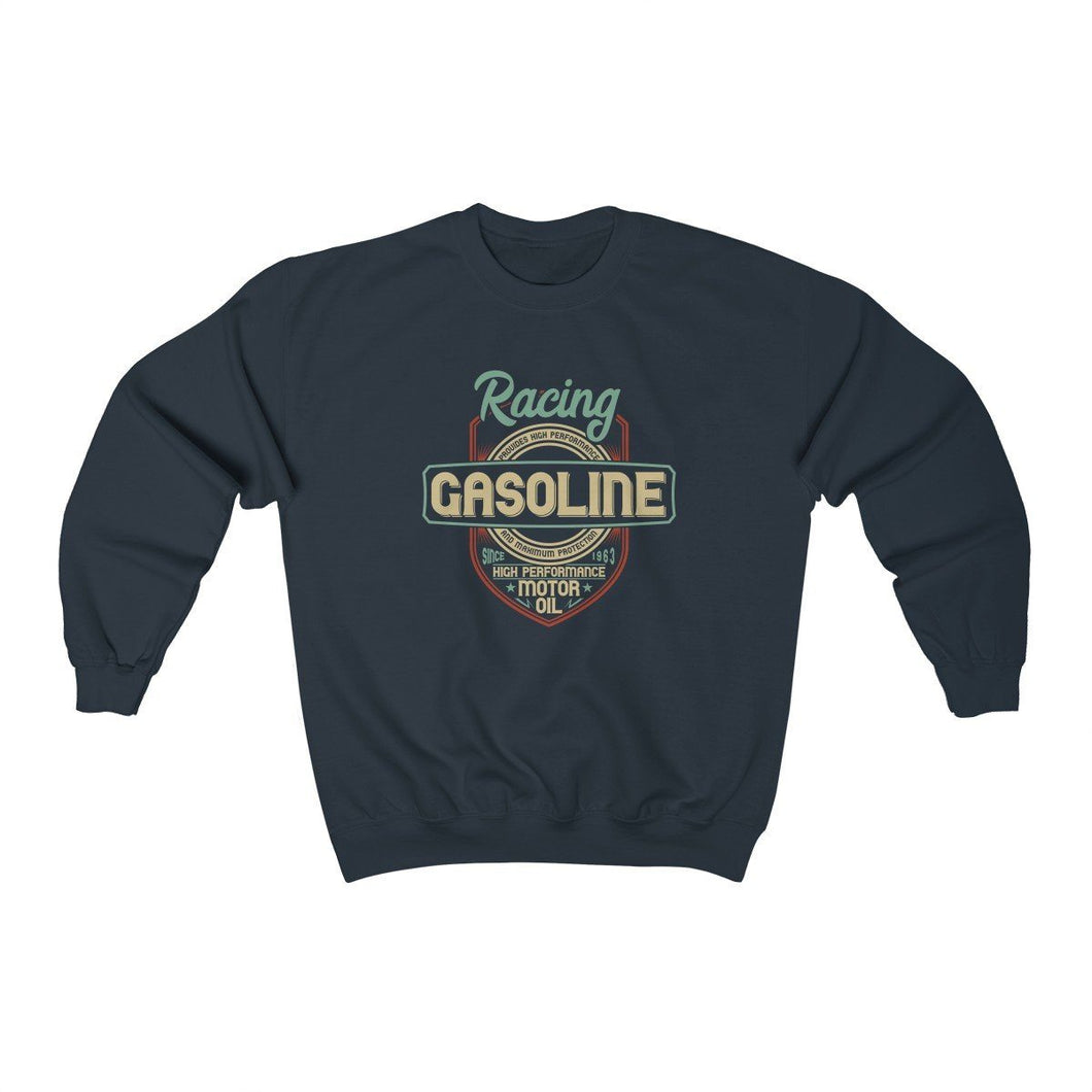Men's Heavy Blend™ Crewneck Sweatshirt - Racing Gasoline Sweatshirt Printify Navy L