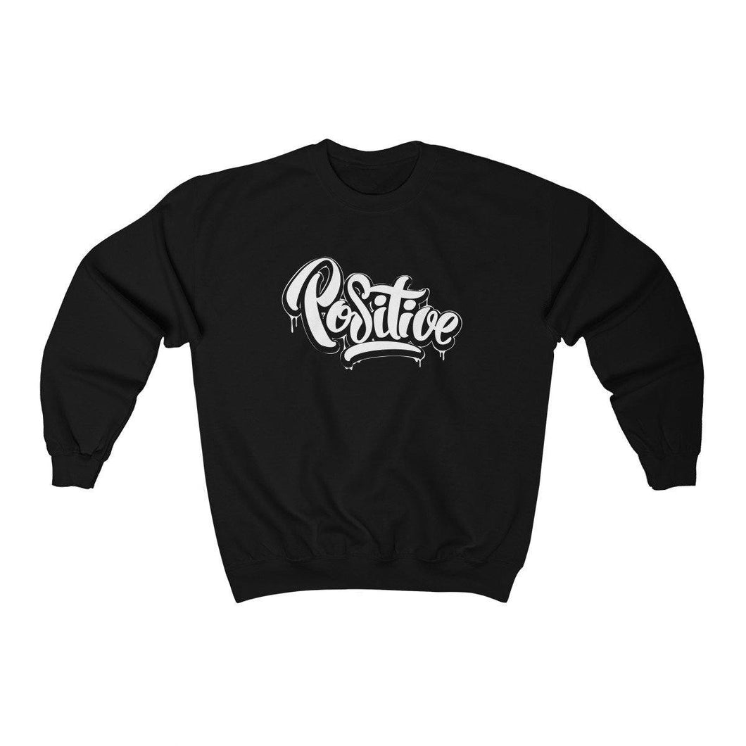 Men's Heavy Blend™ Crewneck Sweatshirt - Positive Sweatshirt Printify Black L