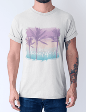 Men's cotton crew tee – Life is beautiful T-Shirt Printify