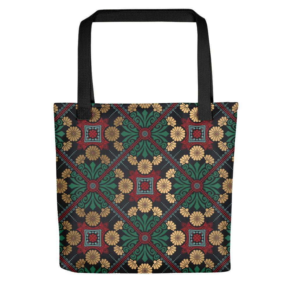 Exquisite Floral Printed Tote Bag Stoneage Fashion Club Default Title
