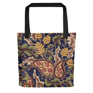 Floral printed multihued tote bag Stoneage Fashion Club Default Title
