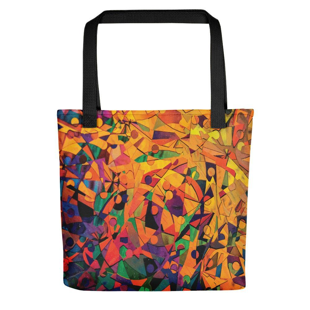 Tote Bag With Magnificent Print And Capacity Stoneage Fashion Club Default Title