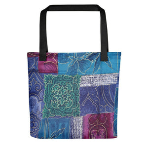Elegant Floral Printed Tote Bag Stoneage Fashion Club Default Title