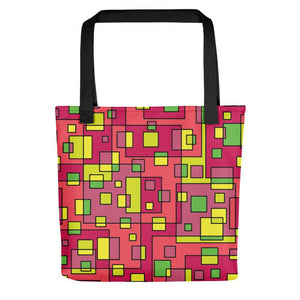 Exquisite Multi-Colored Spacious Tote Bag Stoneage Fashion Club Default Title