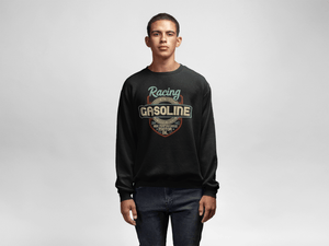 Men's Heavy Blend™ Crewneck Sweatshirt - Racing Gasoline Sweatshirt Printify