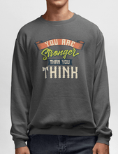 Men's Heavy Blend™ Crewneck Sweatshirt - You are stronger than you think Sweatshirt Printify