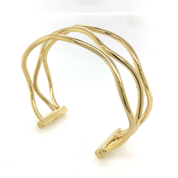 Vermeil Wired Cuff