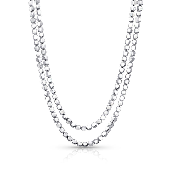 Silver Ice Double Chain
