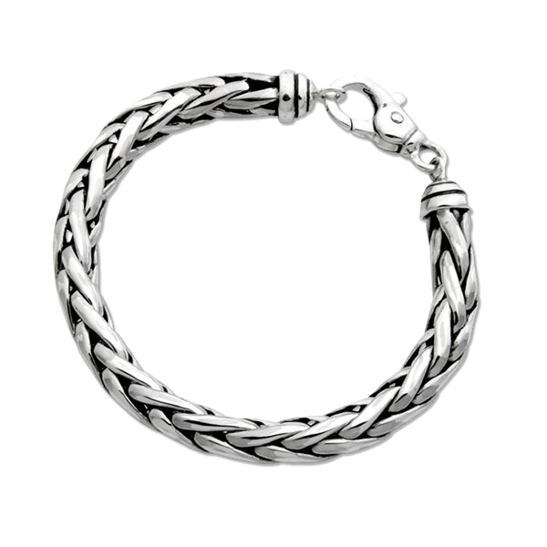 Ladies Wide Woven Bracelet