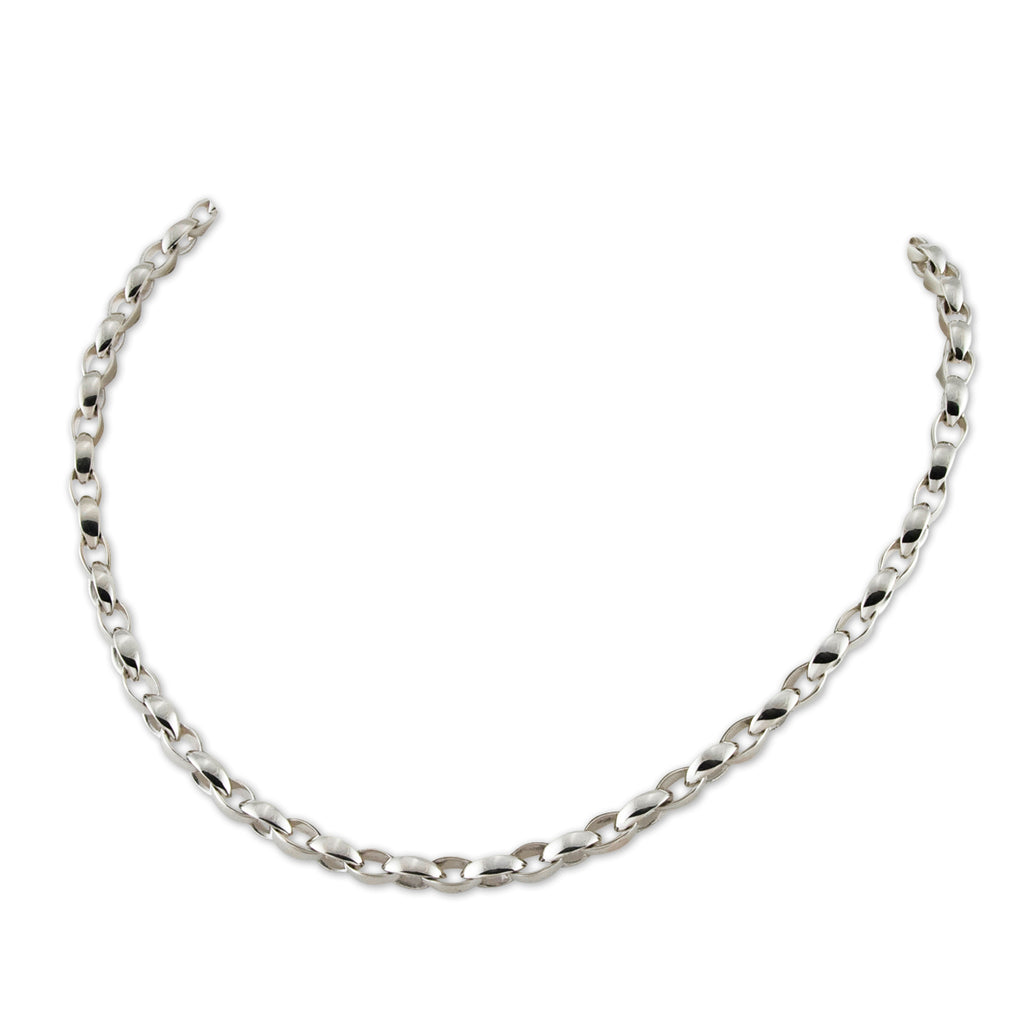 Silken Link Necklace