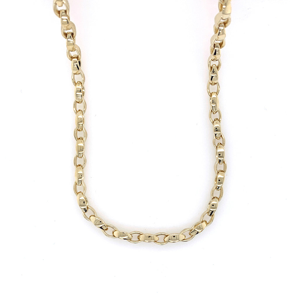 Vermeil Link Necklace