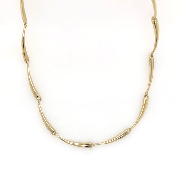 Vermeil Twig Link Necklace