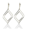 Double Marquis Drop Wire Earring