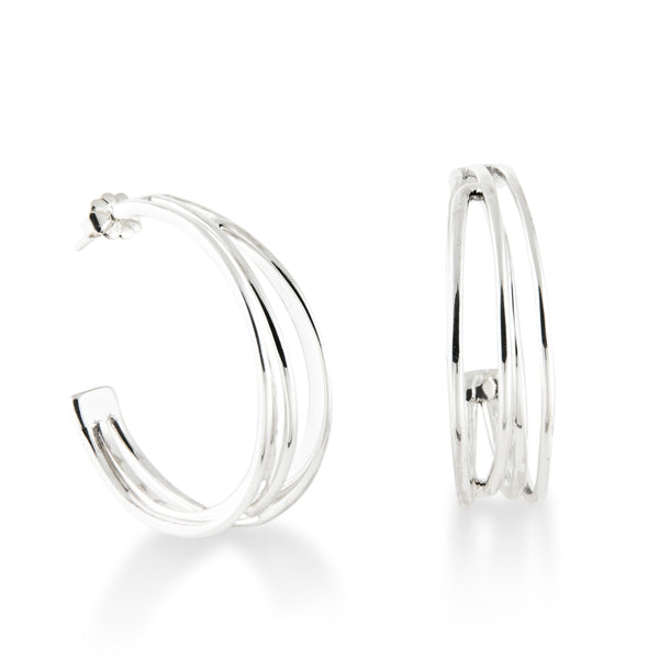 Large Wired Hoops