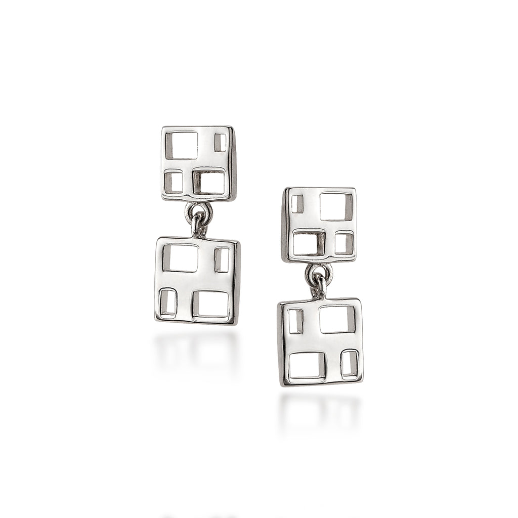 Windows Drop Earrings