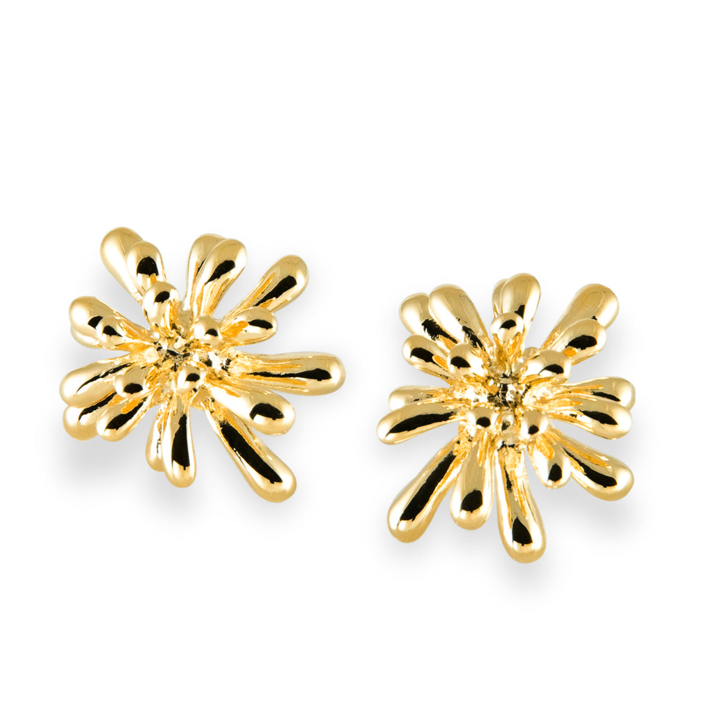 Fireworks Earrings in 14K Gold