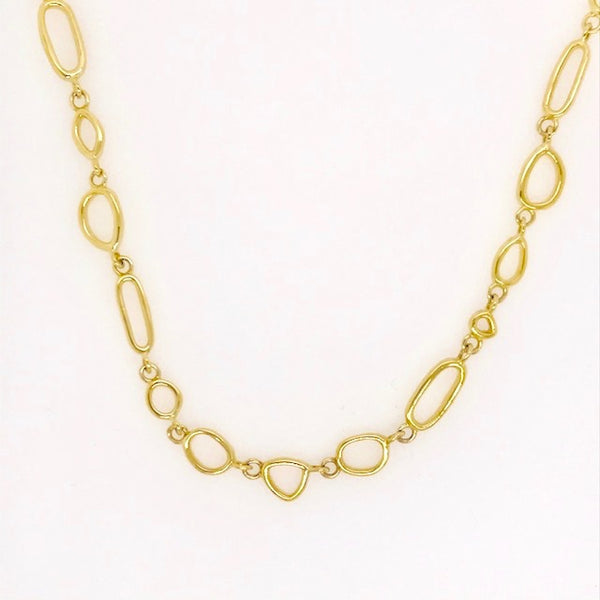 Vermeil Mini Touchstone Necklace