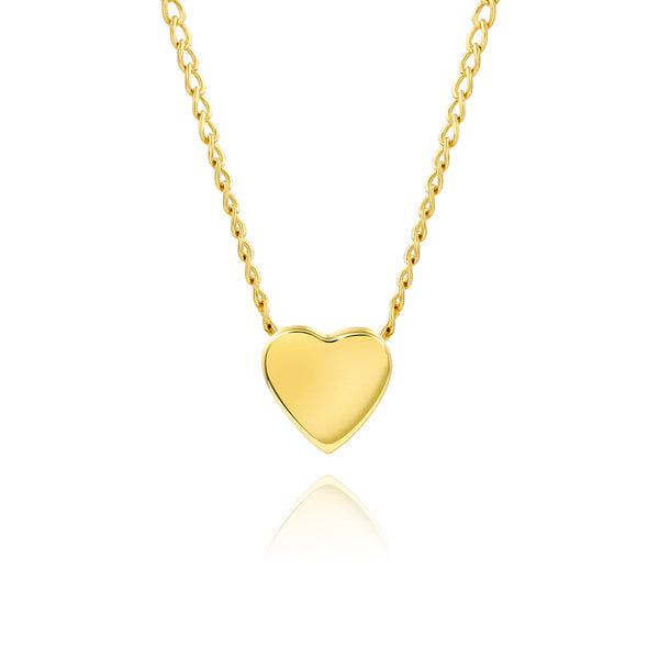 Tiny Heart in 14K Gold