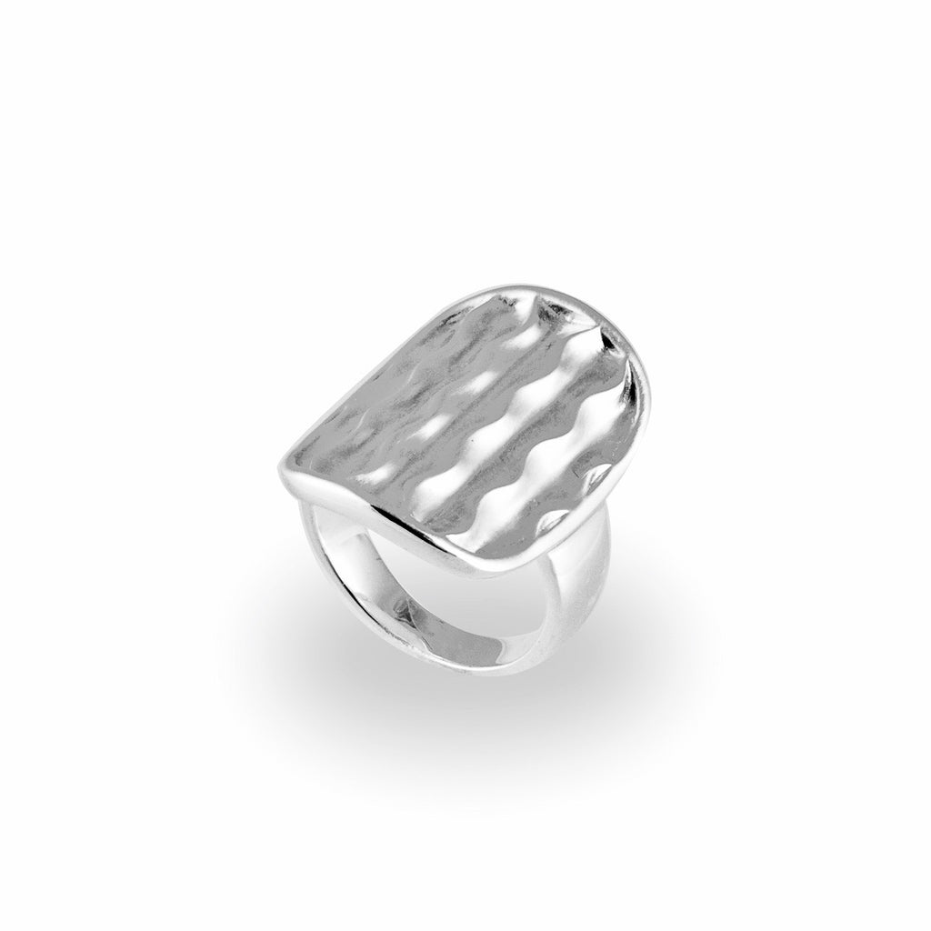 Desert Wave Saddle Ring
