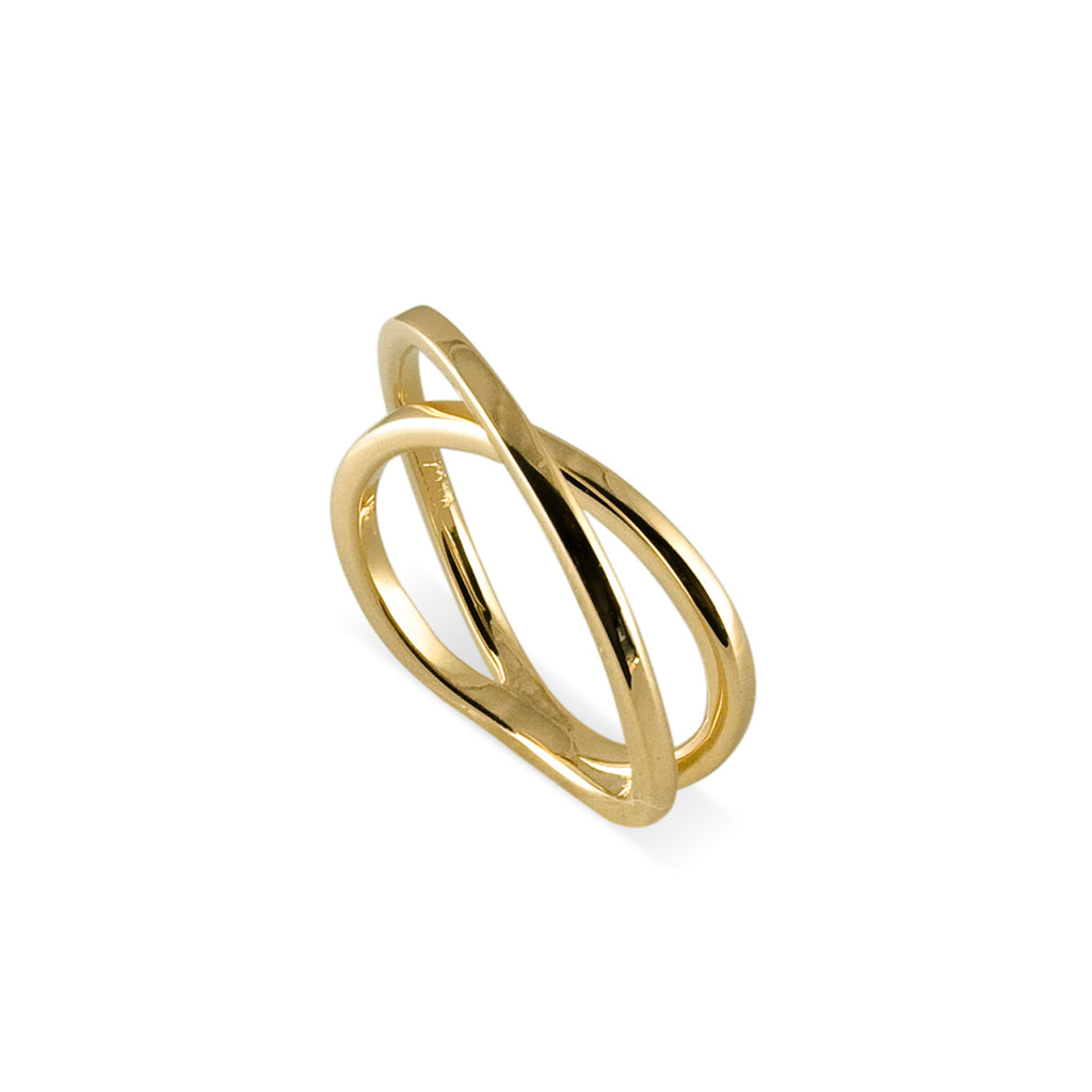 Thin Crossover Ring