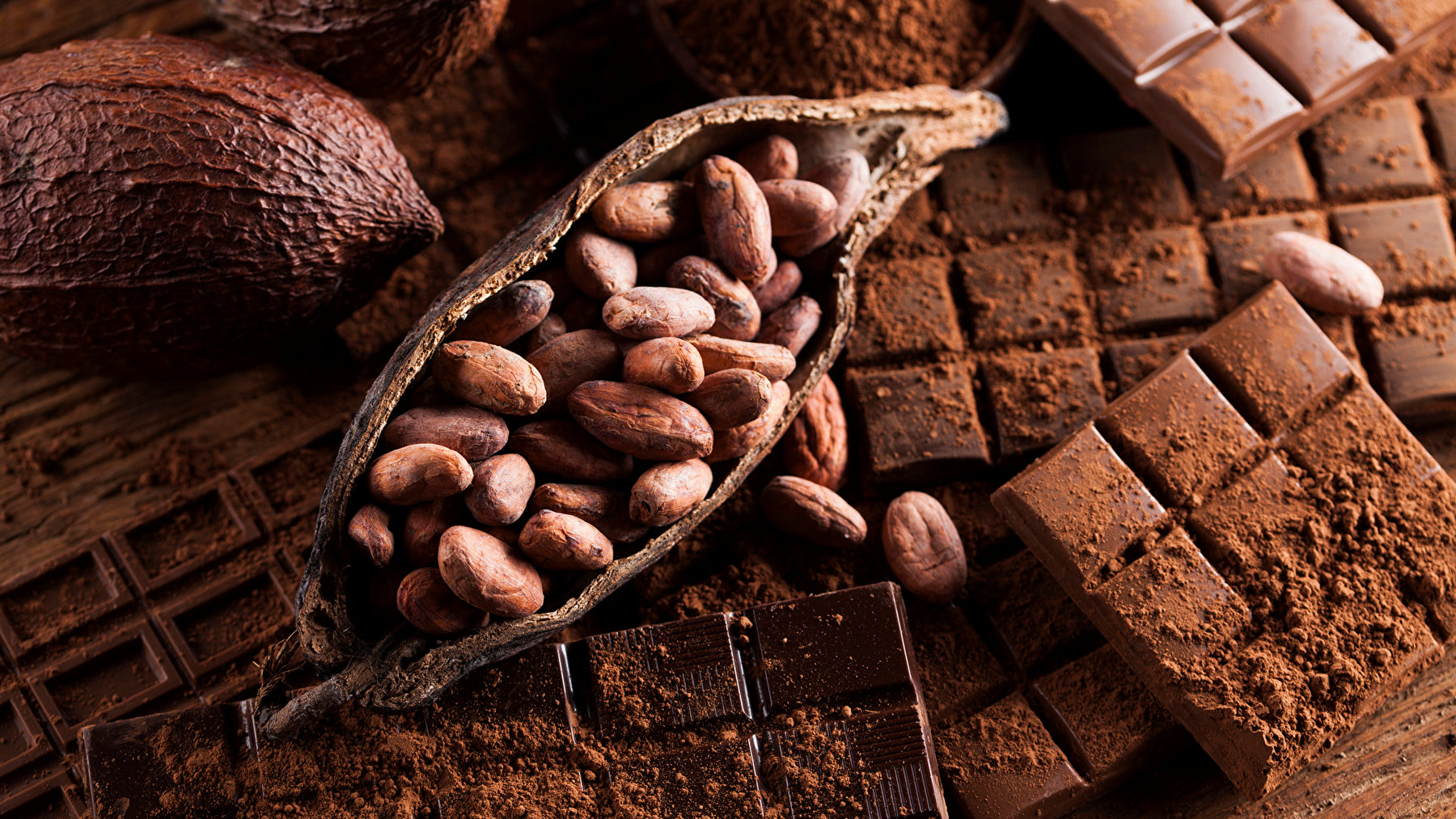 happiness is chocolate-cocoa beans-luxury chocolate