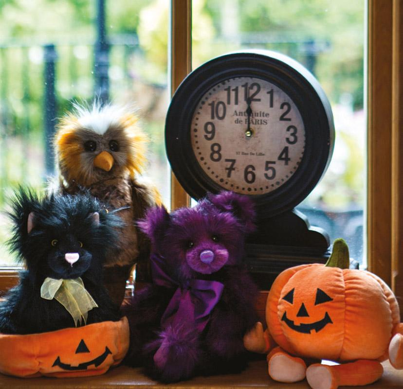 Charlie Bear Collectables Halloween Collection 2019