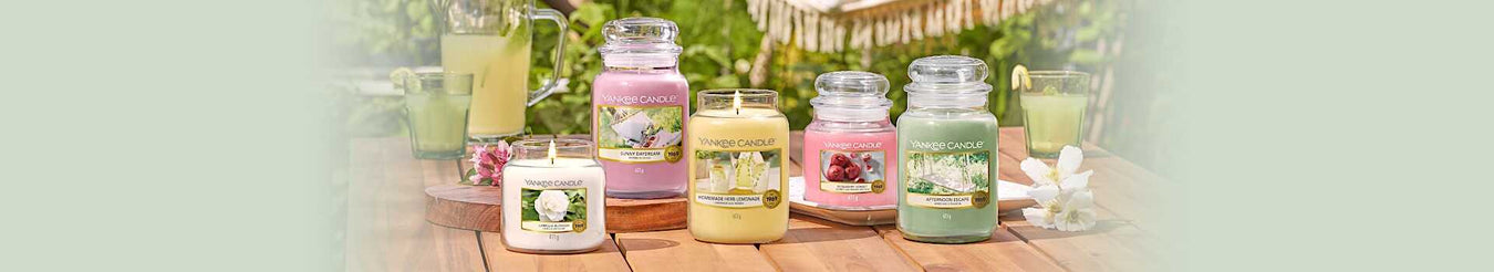 Yankee Candle Garden Hideaway Collection