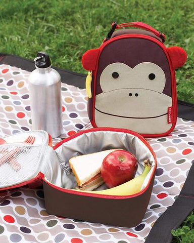 skip hop monkey lunch boxes for back to school
