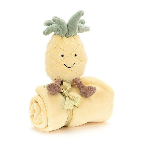 Jellycat-amuseable-pineapple-soother-baby-shower-gift-suitable-from-birth-maple