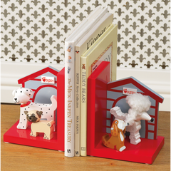 Orange Tree Puppy Bookends At Maple