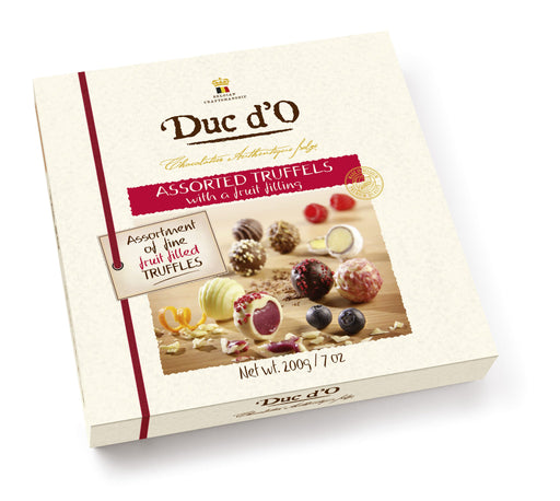 Duc d'O Assorted Truffles with a Fruit Cream Filling 200g