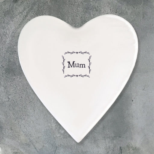 East of India Porcelain Coaster - Mum