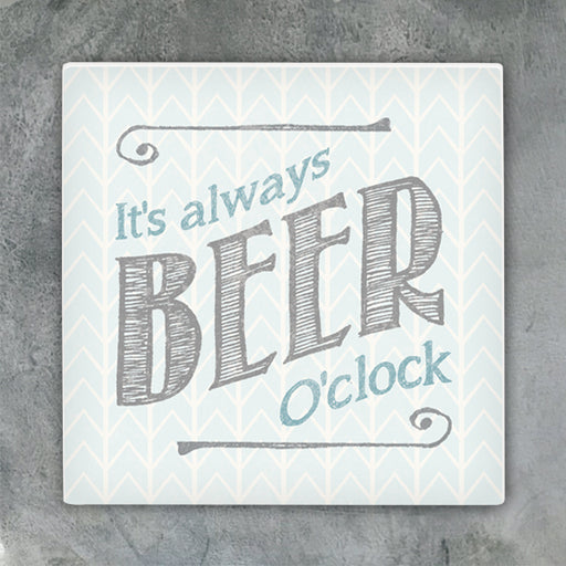 East of India Always Beer O'clock Coaster
