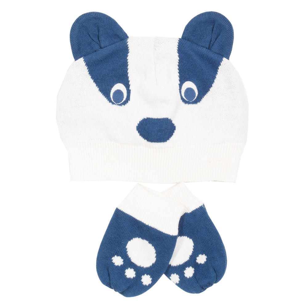 Kite Badger Hat and Mitts
