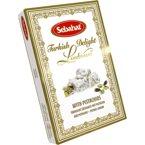 Sebahat Turkish Delight with Pistachios