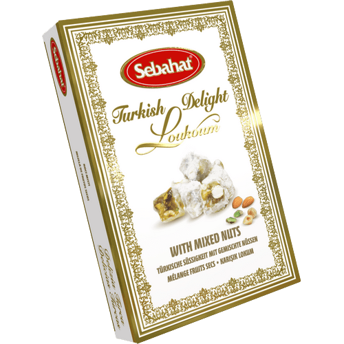 Sebahat Turkish Delight with Mixed Nuts