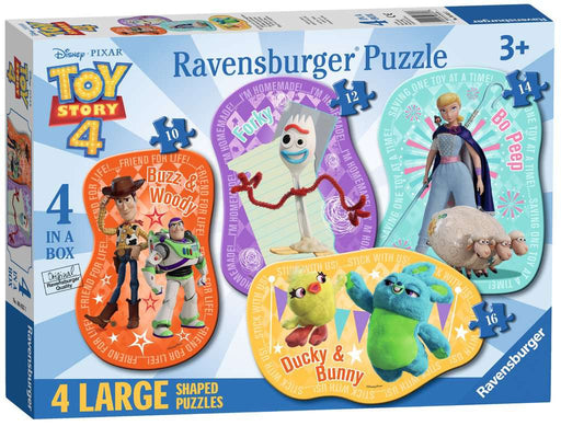 Ravensburger Toy Story 4, Four Large Shaped Puzzles